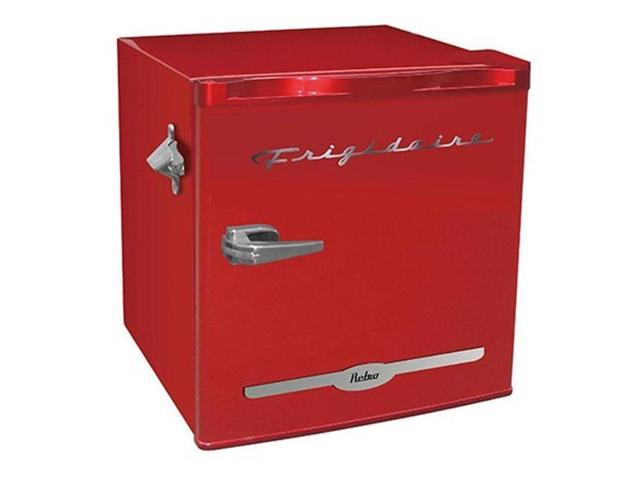 Frigidaire EFR176-RED 1.6 CU FT Retro Bar Fridge with Side Bottle Opener Red photo