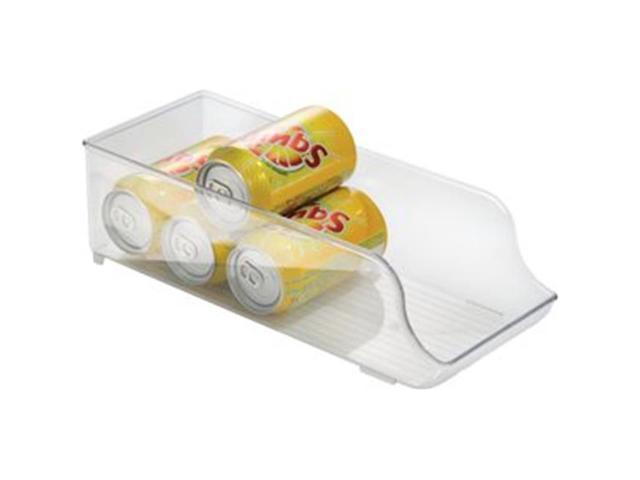 Interdesign Craft Inc 70930 Fridge Binz Soda Can Organizer 5.5x13.75x4 Clear photo