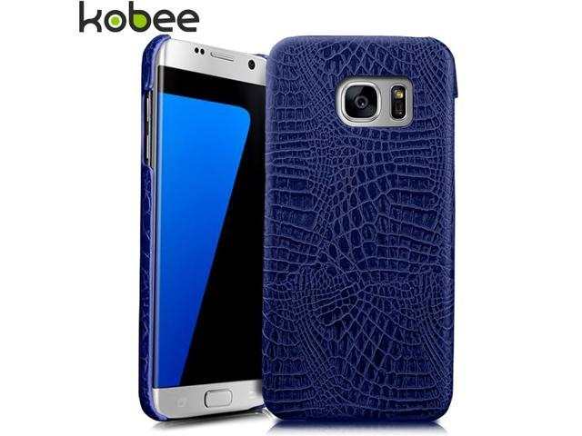 554e514587c KOBEE Luxury For Samsung Galaxy S7 Edge Phone Case Leather 3D Crocodile  Back Hard Cover For Samsung Galaxy S 7 S7 Edge Case