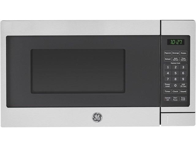 GE Stainless Steel Countertop Microwave Oven photo