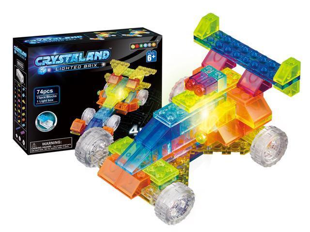 4 In 1 Models Sprint Car Building Blocks Versatility Vehicle Kit