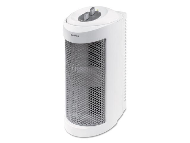 Holmes allergen remover air purifier mini-tower 204 sq ft room capacity white