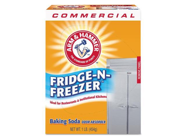 Fridge-N-Freezer Pack Baking Soda, Unscented, Powder, 16 Oz, 12/carton photo