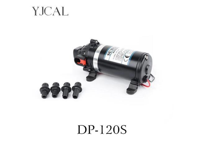 Bilge Pump DC 12V FIP-3200 High Pressure 24V Automatic Deck Wash Water Pump Engine Cooling Vane Self-priming Motor Suction Pump photo