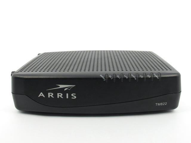 Arris Tm822g Docsis 3 0 Cable Voip Telephony Modem Cable