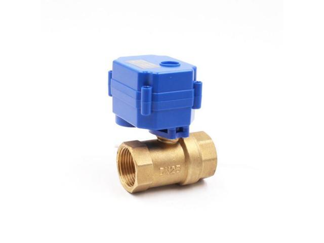 CWX-15 electric brass ball valve DN15 DC12v motorized valve for Water control dishwasher photo
