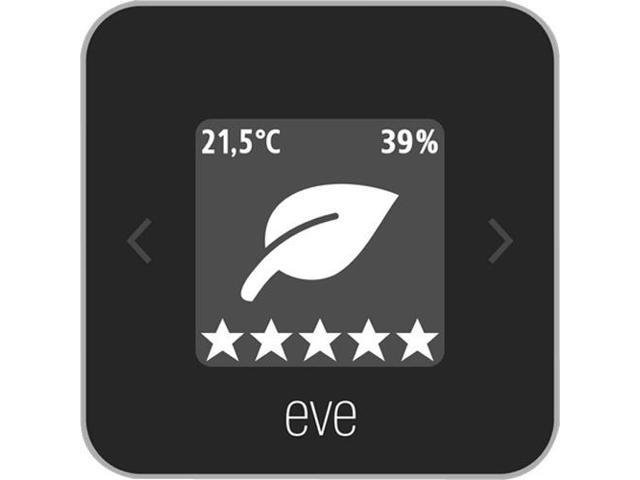 Eve Room - Indoor Air Quality Monitor for Tracking VOC, Temperature & Humidity, Display, No Bridge Necessary, Bluetooth Low Energy (Apple HomeKit) photo