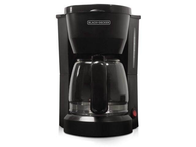 BLACK+DECKER DCM600B 5-Cup Compact Switch Coffeemaker, Black photo