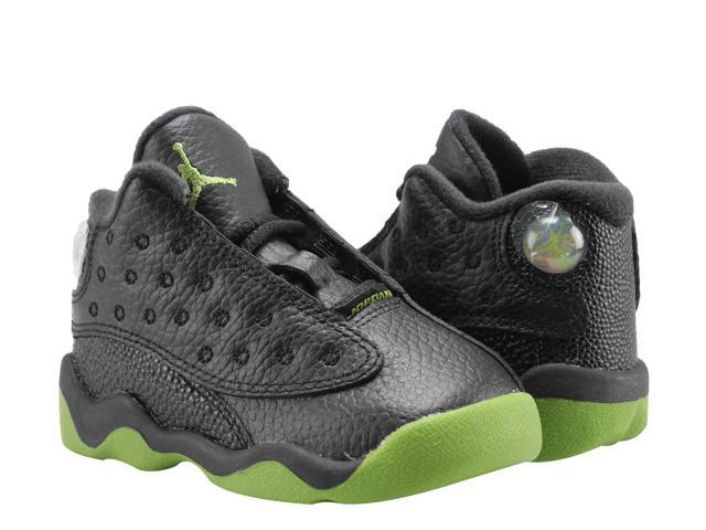e4ce6a98ce2 Nike Air Jordan 13 Retro BT Black/Altitude Toddler Basketball Shoes  414581-042 Size 7