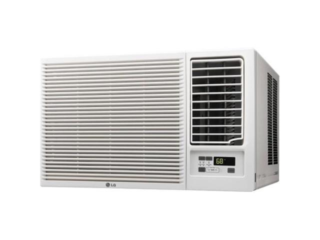 LG - 1420 Sq. Ft. Window Air Conditioner and 1420 Sq. Ft. Heater - White photo