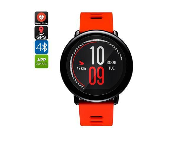 Xiaomi Huami AMAZFIT Smart Watch with Bluetooth 4.0 Technology - Run Tracking, Phone-Free Music, Heart Rate Monitor, GPS (Android iOS), 5 Day. (698775786504 Health & Beauty Health Care Biometric Monitors Heart Rate Monitors) photo