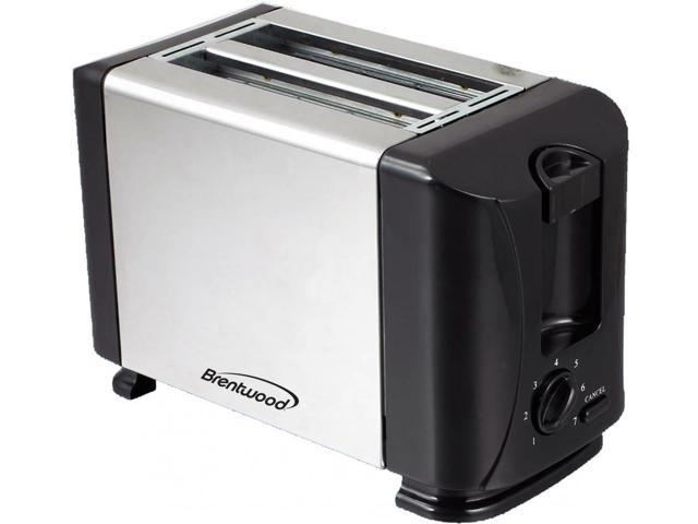 Brentwood(R) Appliances TS-280S 2-Slice Toaster with Extra-Wide Slots photo