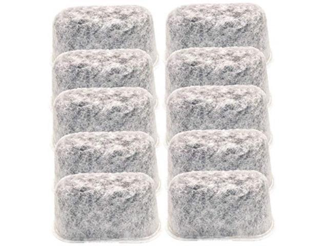 Blendin 10 Pack Replacement Charcoal Coffeemaker Water Filters Fits Cuisinart DCC-RWF1 Coffee Makers photo