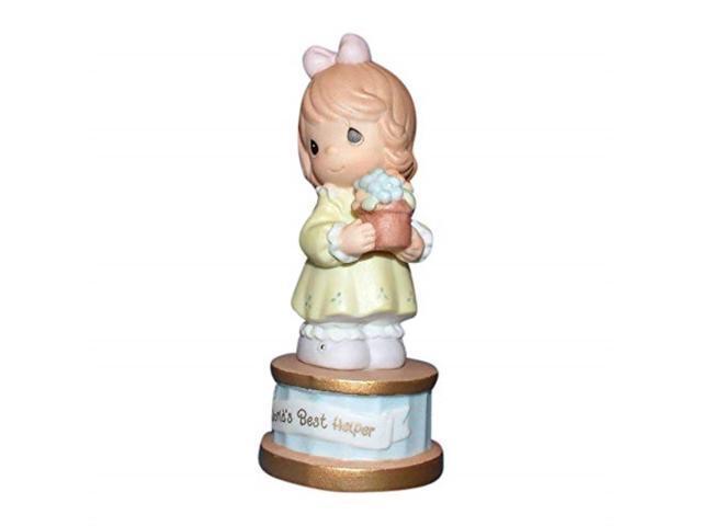 Precious Moments Worlds Best Helper Figurine 491608 (789542497737 Furniture) photo