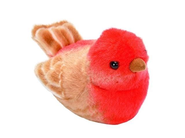 Wild Republic Audubon Birds House Finch Plush with Authentic Bird Sound, Stuffed Animal, Bird Toys for Kids & Birders (Toys & Games Games) photo