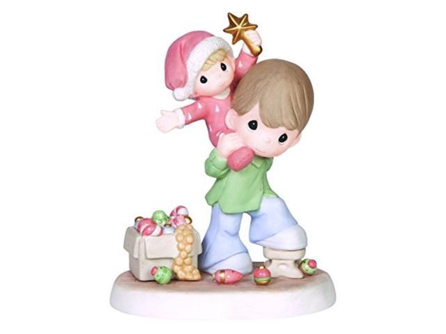 Precious Moments Company Father and Son with Star Figurine 141010 (875555008456 Home & Garden Household Supplies) photo