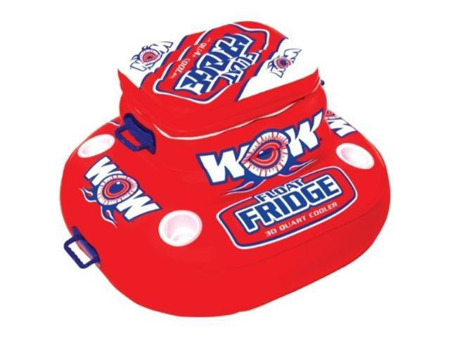 WOW World of Watersports, Float Fridge, Inflatable cooler, 30 Quart capacity, Holds 30 cans photo