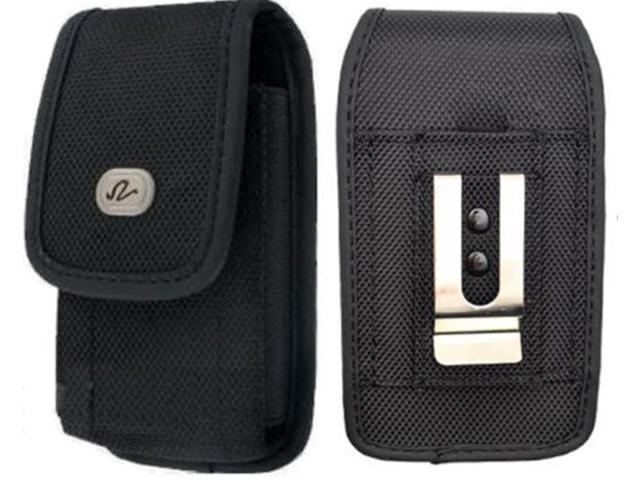 san francisco 04e25 e784d Coolpad Canvas / Splatter Premium High Quality Black Vertical Rugged Case  Pouch Holster with Belt Clip and Belt Loops - Newegg.com