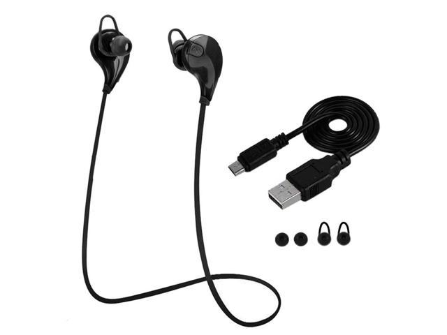 Sweatproof Bluetooth 4.1 Technology Bluetooth Wireless Stereo Earphone Earbuds Universal In-ear Sports Earpieces (663257799600 Electronics Audio Audio Components Headphones) photo