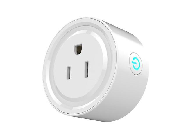 Universal US Plug Wireless Wifi Remote Control Home Appliance Power Socket Smart Phone Timer Switch Wall Plug White photo