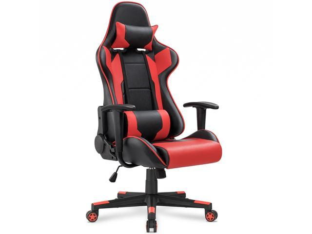 Awesome Homall Gaming Chair Racing Style High Back With Premium Pu Leather And Ergonomic Computer Chair Swivel Chair With Headrest And Lumbar Dailytribune Chair Design For Home Dailytribuneorg