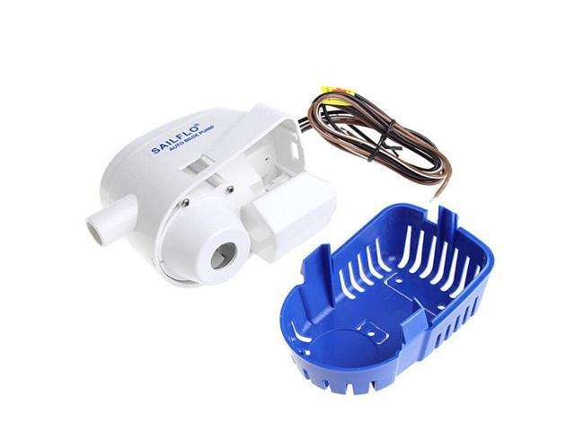 750GPH 12V Boat Marine Automatic Submersible Bilge Water Pump Float Switch High Quality photo