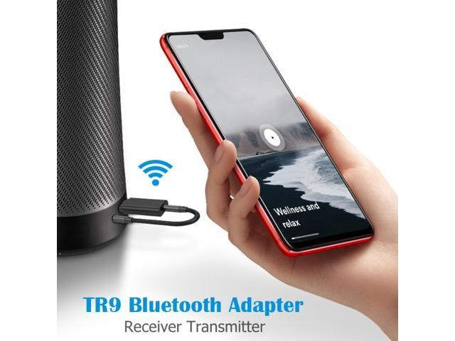 High-quality Bluetooth 5.0 Transmitter Wireless Receiver USB 3.5mm Audio Speaker Adapter Dongle Home and Office appliances photo