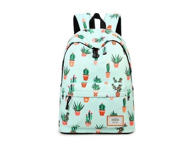 Waterproof Fashion Casual Backpack for Teen Girls College School Backpack Women Cactus Pattern Print Backpack Purse (716955138742 Luggage & Bags) photo