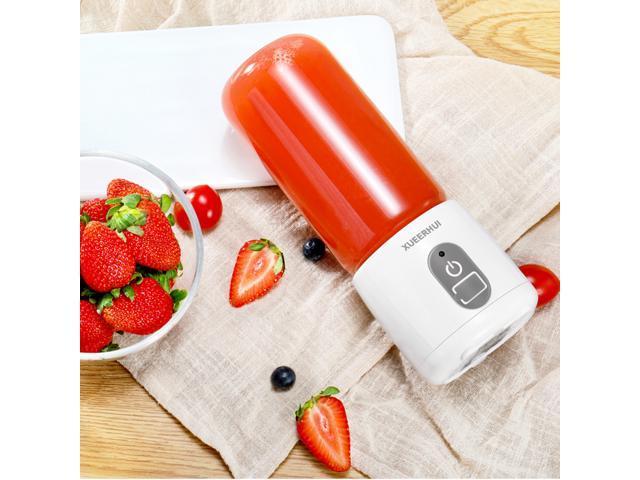 Mini 400ML Juice Machine Office Home USB Electric Juice Maker Blender Juicer Baby Food Mixer Fruit Vegetable Juice Extractor photo
