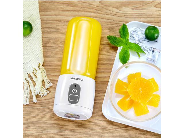 Portable 400ML Juice Machine Office Home Mini USB Electric Juice Maker Blender Baby Food Mixer Fruit Juice Extractor photo
