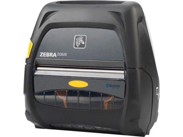 zebra technologies zebra zq520 direct thermal printer - monochrome - portable - receipt print - 4.09 print width - 5 (783555024638 Electronics) photo