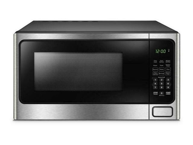 Danby Designer 1.1 cu. ft. 1000 Watts Microwave with Stainless Steel Front photo
