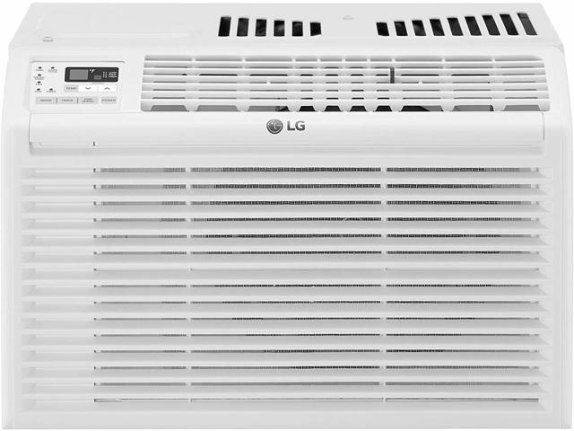 LG 6000 BTU 115V Window Air Conditioner with Remote Control - White photo