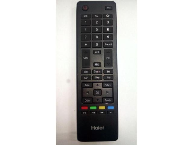 Recertified - Original Haier HTR-A18M TV Remote Control (HTRA18M) photo