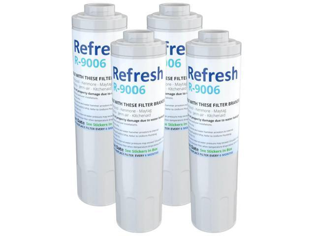 Refresh Replacement Water Filter Fits KitchenAid UKF8001 Refrigerators (4 Pack) photo