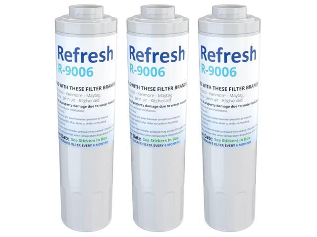 Refresh Water Filter - Fits KitchenAid UKF8001AXX-750 Refrigerators (3 Pack) photo
