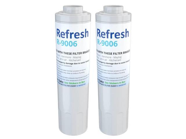 Refresh Replacement Water Filter - Fits Amana AFD2535DEQ Refrigerators (2 Pack) photo