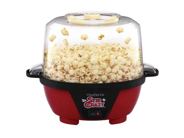 West Bend 82505 Stir Crazy Electric Hot Oil Popcorn Popper Machine with.