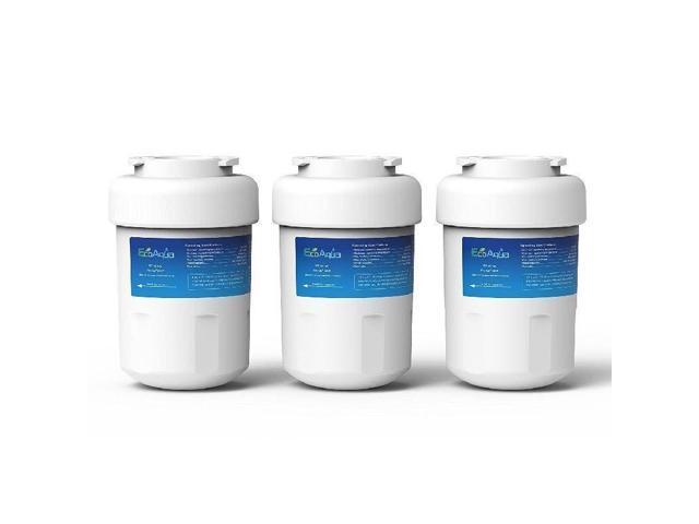 EcoAqua EFF-6013A 3Pc Replacemen Refrigerator Water Filter GE Hotpoint MWF Amana photo