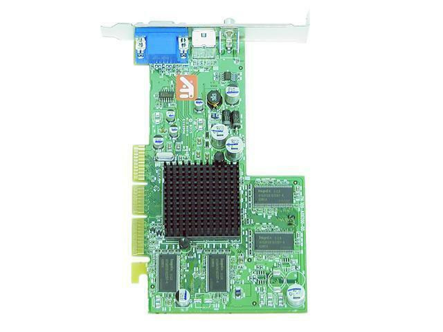 ATI Technologies 100-436006 Radeon 9200 128Mb DDR 128-Bit AGP Video Graphic Card (818211986668 Electronics Computer Components I/O Cards & Adapters) photo