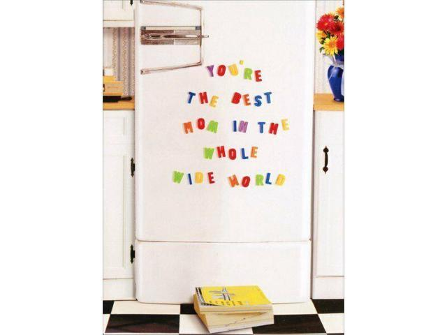 Magnets on Fridge Funny Mothers Day Card - Greeting Card by Avanti Press photo