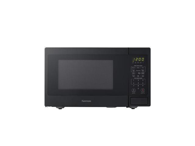 kenmore 70919 countertop microwave 0.9 cu. ft. black photo