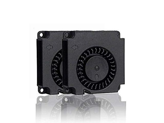 GDSTIME Dual Ball Bearing Dc Blower Fan 12V 40mm x 40mm x 10mm for 3D Printer Humidifier Aromatherapy and Other Small Appliances Series Repair. photo