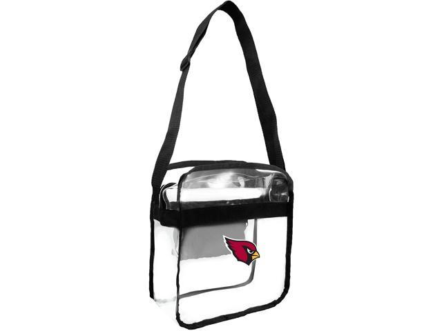 NFL Arizona Cardinals Clear Carryall Crossbody Purse One Size (686699601942 Men's Casual Shirts) photo
