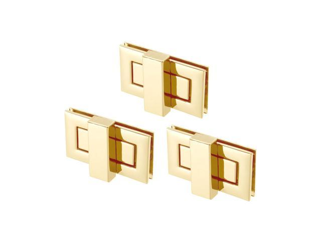 3 Sets Rectangular Purses Twist Lock 52mm X 29mm Clutches Closures for DIY Bag Making - Light Gold (041814252018 Hardware,hardware Hardware Accessories) photo