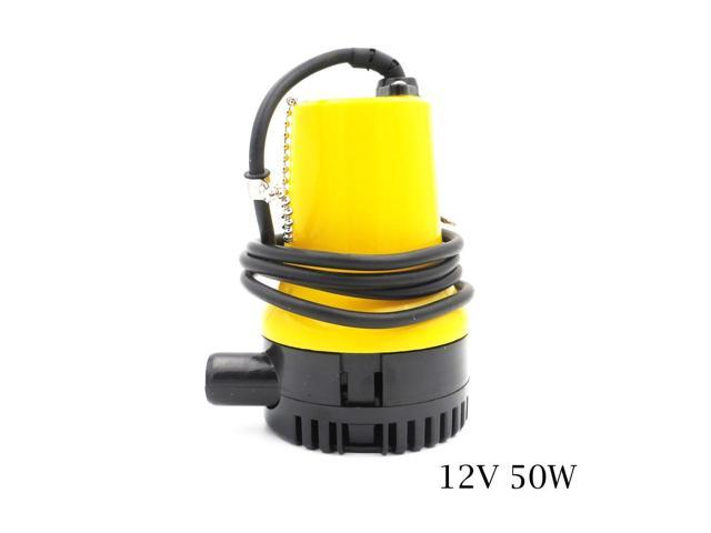 12V 50W BL2512N DC Bilge Pump Electric Pump for Boats Accessories marin, submersible boat water pump solar panel submersible photo