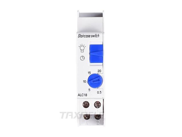 ALC18 Din Rail Mechanical Timer Switch 220VAC 16A Home Appliance Staircase Light Time Switch Electronic Relay Timer photo