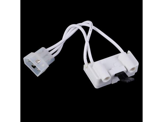 1 Pack Dryer Door Switch 3406107 For Whirlpool Kenmore Sears Replacement White photo