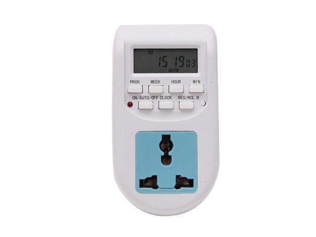 EU Plug Energy Saving Timer Programmable Electronic Timer Socket Digital Timer Household Appliances For Home Devices photo