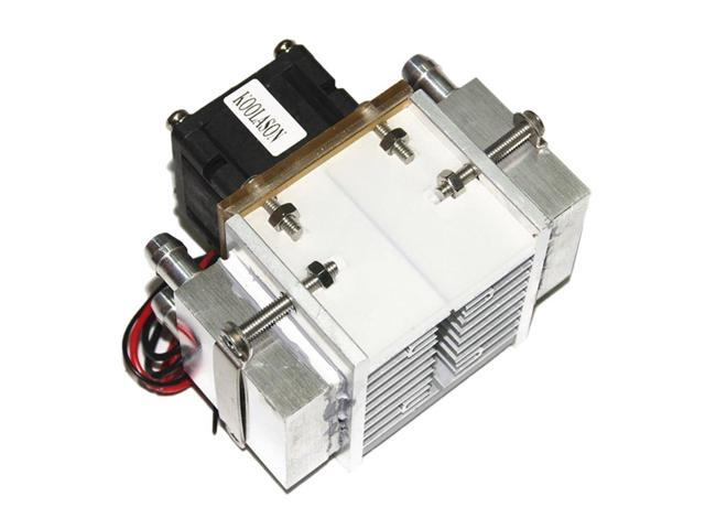 DC12V 108W Aluminum Water Cooling Radiator Fan Semiconductor Electronic Peltier Refrigeration Freezer Small Air Conditioner photo